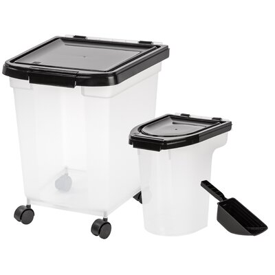 5-Piece Airtight Pet Food Storage Set MP-350/MP-220/SCP-2