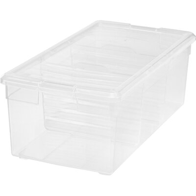 15 qt Plastic Storage Tote (Set of 6)