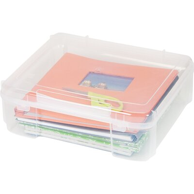 Scrapbook Storage Case SBC-450 CLEAR 4PC SET