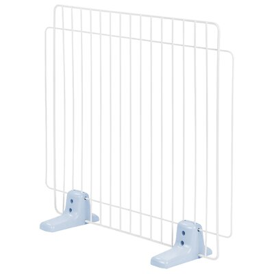 Self Standing Wire Pet Gate Size: Medium, Finish: Blue