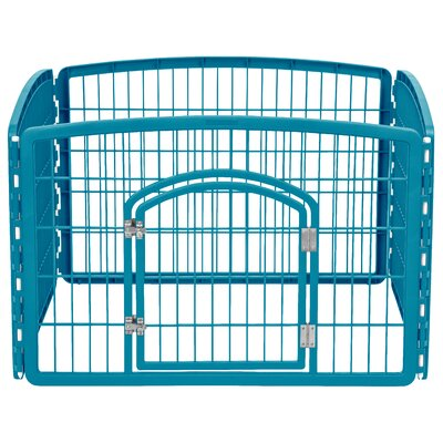24 Indoor/Outdoor Plastic Pet Pen
