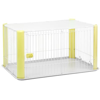 23.5 Deluxe Play Pet Pen Color: Yellow