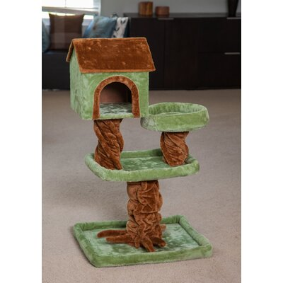 41 Carpeted Cat Tree