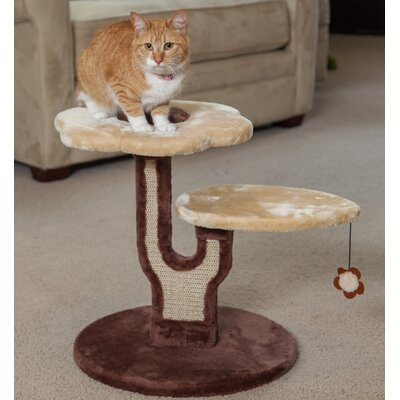 19 Carpeted Cat Tree