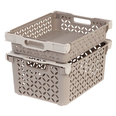 4 Piece Decorative Basket Set