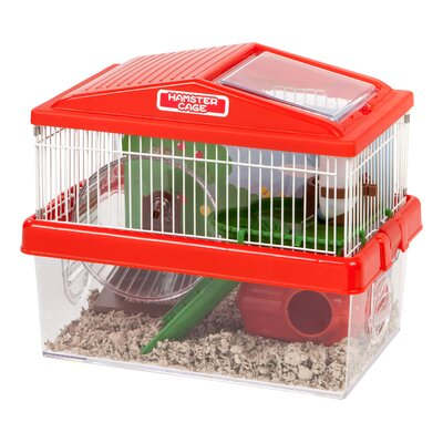 Hamster Habitat Modular Color: Red