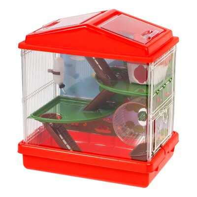 Hamster Cage Color: Red