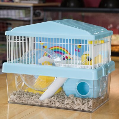 Hamster Habitat Modular Color: Blue