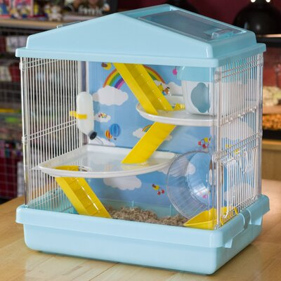 Hamster Cage Color: Blue