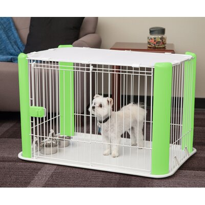 Deluxe Pet Pen Color: Green