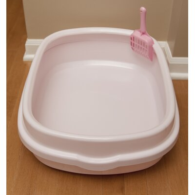 Litter Pan Color: Pink