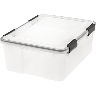 WeathertightStorage Box Size: 7.75 H x 19.7 W x 15.75 D