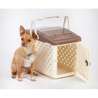 Pet Carrier Color: Brown