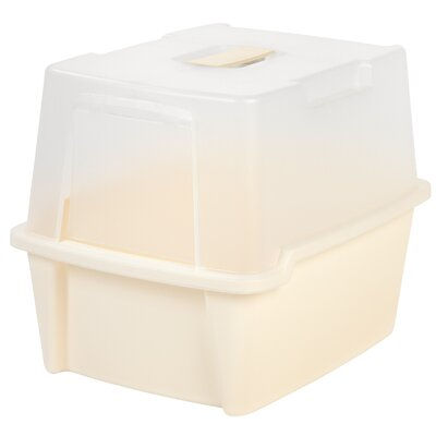 Hooded Litter Box Color: Ivory