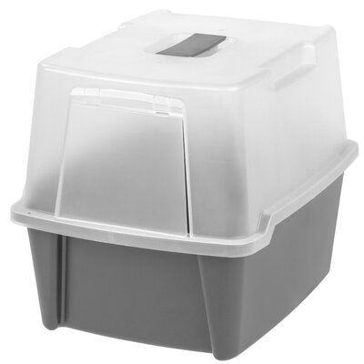 Hooded Litter Box Color: Gray