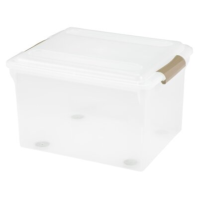 Store and Slide File Box