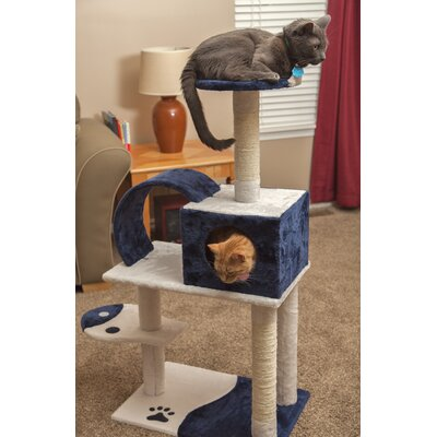 48 Plush Cat Tree