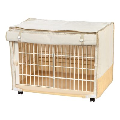 Covered Plastic Small Animal Cage Size: Small (25 H x 22.95 W x 33.31 L)