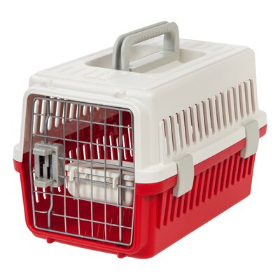 Deluxe Travel Pet Carrier Color: Red