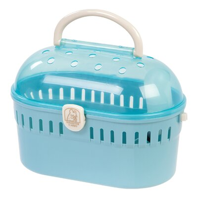 Small Animal Carrier Color: Blue