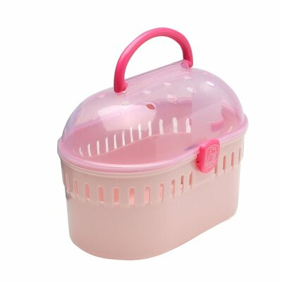 Small Animal Carrier Color: Pink