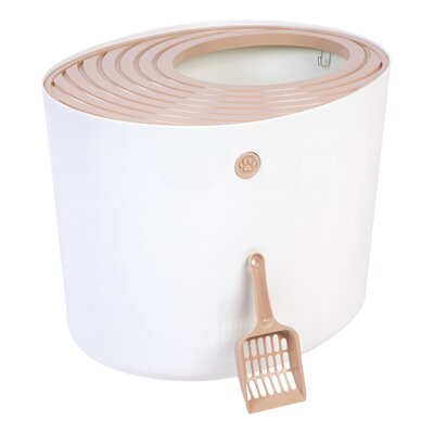 Standard Litter Box Color: Ivory/Tan