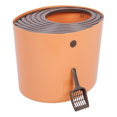 Standard Litter Box Color: Orange/Brown