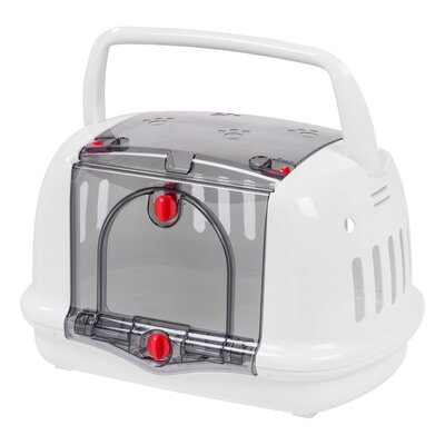 Pet Carrier Color: White