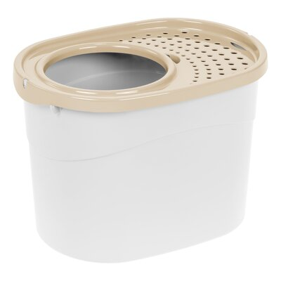 Standard Litter Box Color: White/Beige