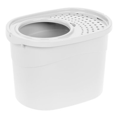 Standard Litter Box Color: White