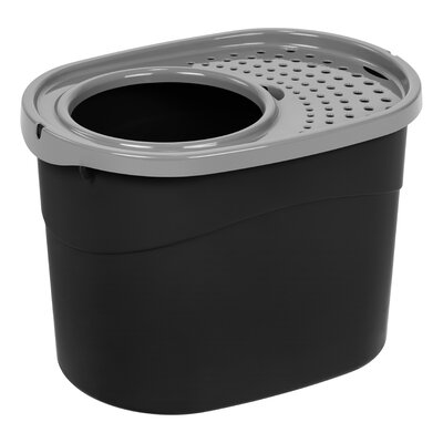 Standard Litter Box Color: Black