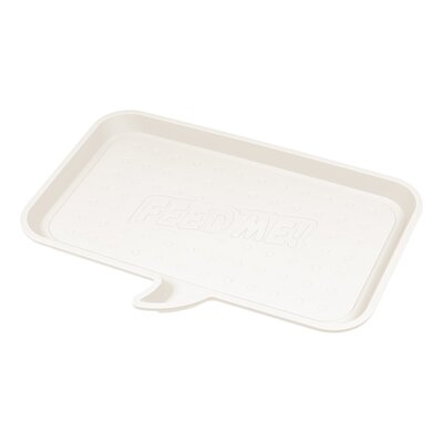 Feed Me Feeding Mat Size: Small, Color: Light gray