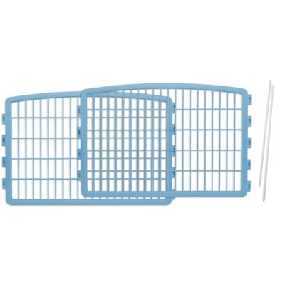 Expansion Kit for Indoor/Outdoor Plastic Pet Pen Color: Blue