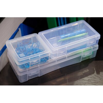 Modular Supply Plastic 3 Piece Craft Cases Set