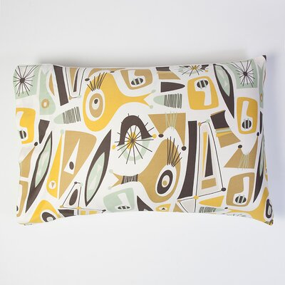Atomic Dreams Pillowcase Size: Standard