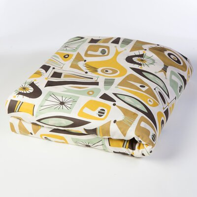 Atomic Dreams Duvet Cover Size: Full/Queen