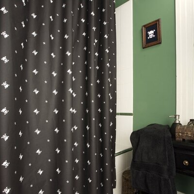 Skullstar Cotton Shower Curtain