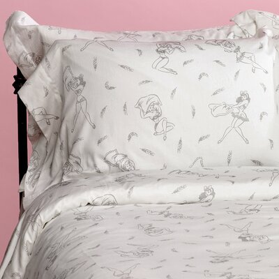 Pillow Fight Duvet Cover Size: Twin