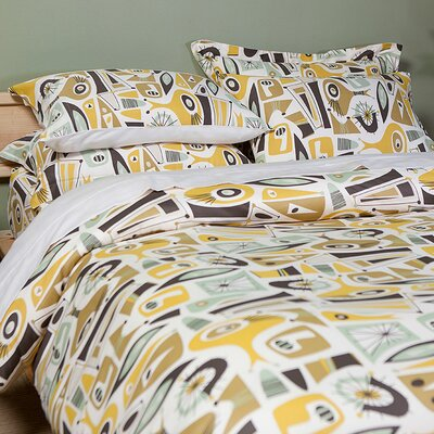 Atomic Dreams Comforter Size: Twin