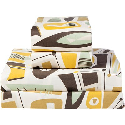 Atomic Dreams Sheet Set Size: California King