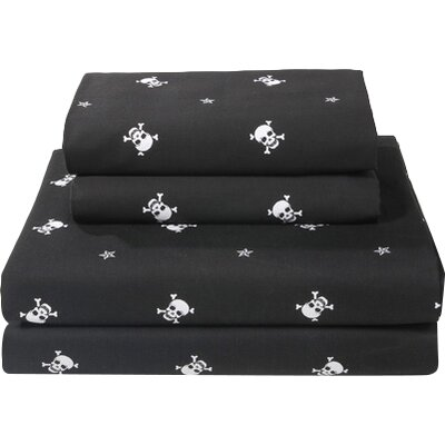 Skullstar 300 Thread Count Sheet Set Size: Full
