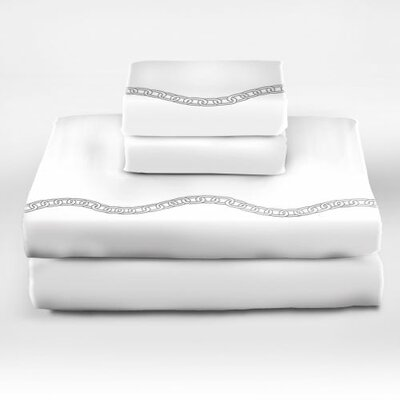 Lock and Chain 300 Thread Count Sheet Set Size: Queen