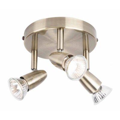 Endon Lighting 3 Light Ceiling Spotlight