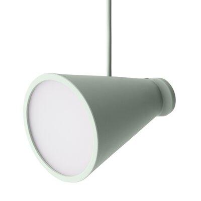 Bollard 1 Light Pendant Color: Pale Green