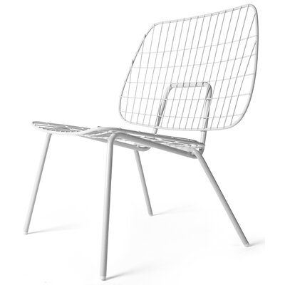 WM Lounge Chair Finish: White