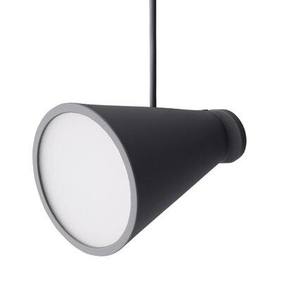 Bollard 1-Light Pendant Color: Carbon