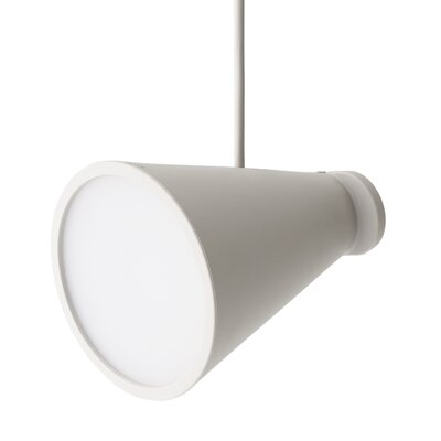 Bollard 1-Light Pendant Color: Ash