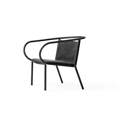 Afteroom Lounge Chair Color: Black