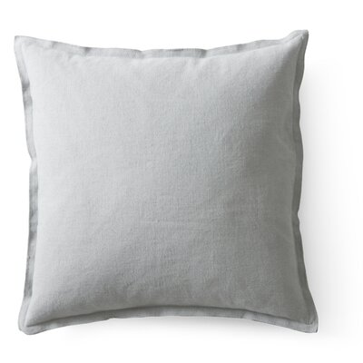 Raw Throw Pillow Color: Storm