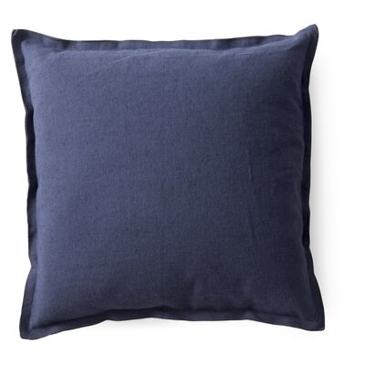 Raw Throw Pillow Color: Petrol